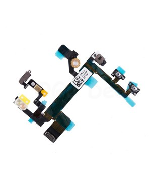Apple iPhone 5S Power and Volume, Mute Switch Flex Cable Replacement, Ori new