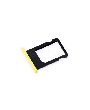 iPhone 5C Nano SIM Card Tray - Yellow