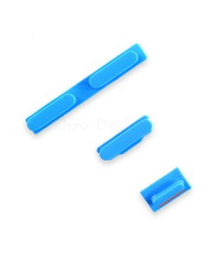 Apple iPhone 5C Side Button Key Set - Blue