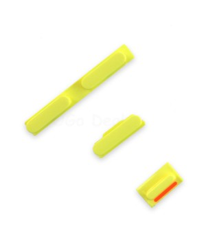 Apple iPhone 5C Side Button Key Set - Yellow