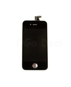 Apple iPhone 4S Digitizer and LCD Screen Assembly with Frame Replacement - Black(Aftermarket LCD)