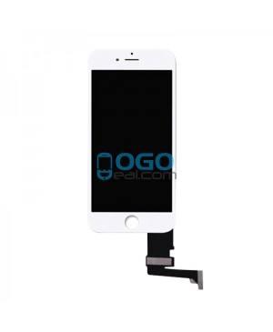 For Apple iPhone 7 Digitizer and LCD Screen Assembly with Frame Replacement - White self assembly