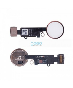 Back Home Button Flex Cable Replacement for iPhone 7 Rose Gold