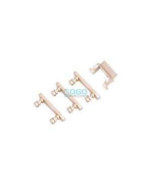 Power On Off Volume Side Key Button Replacement for iPhone 7 Gold