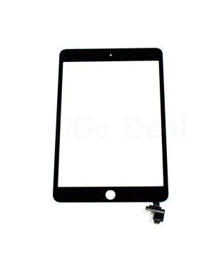 iPad Mini 3 Glass and Digitizer Assembly with IC chip, High Quality - Black
