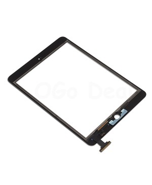 iPad Mini 3 Front Glass/ Digitizer Touch Panel, High Quality - Black