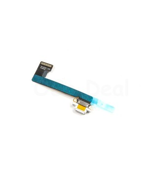 iPad mini 2 & Mini 3 Charging Port Dock Connector Flex Cable - White
