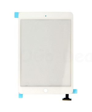 iPad Mini 1/2 Front Glass/ Digitizer Touch Panel, High Quality - White