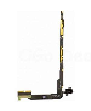 iPad 3/4 Audio Headphone Jack Flex Cable with Interconnection  Board (Cellular verison)- Ori