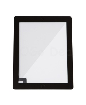 iPad 2 Glass and Digitizer with Home Button Flex Assembly,Original - Black