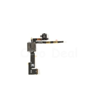 iPad 2 Audio Headphone Jack Flex Cable with Interconnection  Board (Wifi Version)- Ori