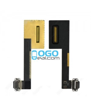 "Charging Dock Port Flex Cable Replacement for iPad Pro 9.7"" - Black"