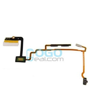 Headphone Jack Audio Flex Cable Replacement for iPod Nano 7th Gen White
