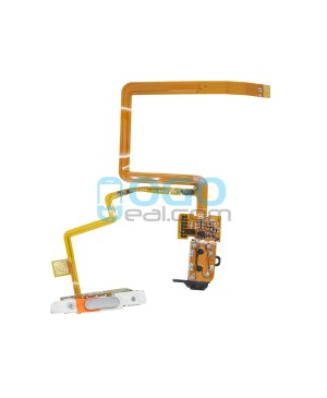 Headphone Jack Flex Cable Replacement for iPod Classic 6th Gen 160GB Black