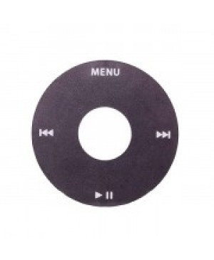 Click Wheel Replacement for iPod Video 5th Gen - Black