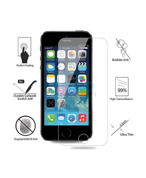 10pcs iPhone 5 5S 5C Tempered Glass Screen Protector Film Guard 9H Without retail Packing Box