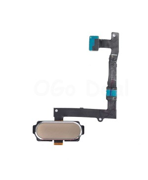 Home Button Flex Cable Replacement for Samsung Galaxy S6 Edge Plus - Gold