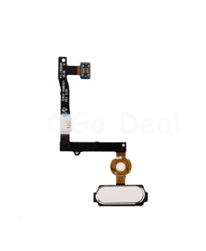 Home Button Flex Cable Replacement for Samsung Galaxy S6 Edge Plus - White