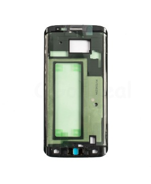 LCD front Support Frame Replacement for Samsung Galaxy S6 Edge ) - (G925P / G925V) - Black