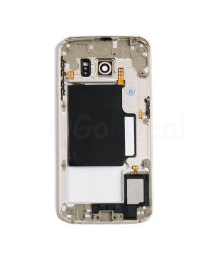 Back Housing Assembly for Samsung Galaxy S6 Edge ) - (G925P / G925V) - Gold