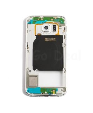Back Housing Assembly for Samsung Galaxy S6 Edge ) - (G925P / G925V) - White