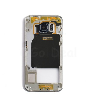 Back Housing Assembly for Samsung Galaxy S6 Edge (G925A / G925T) - Black