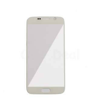 Front Glass Lens Replacement for Samsung Galaxy S6 White