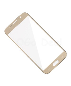 Front Glass Lens Replacement for Samsung Galaxy S6 Gold