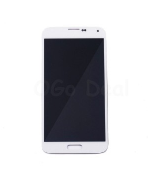 LCD Screen and Digitizer Assembly Replacement for Samsung Galaxy S5 - White