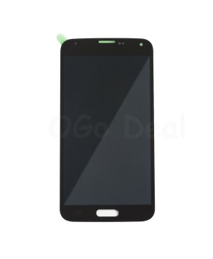 LCD Screen and Digitizer Assembly Replacement for Samsung Galaxy S5 - Black