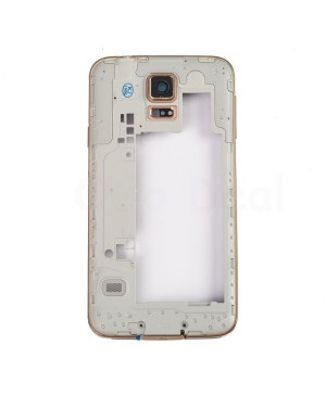 Midframe Assembly for Samsung Galaxy S5  - Gold
