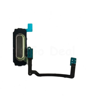 Home Button Keypad Flex Cable Replacement for Samsung Galaxy S5 - Black