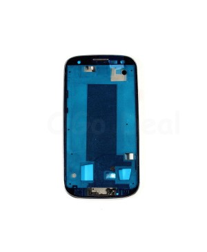 For Samsung Galaxy S3 III L710 Faceplate Front Bezel Middle Plate Frame - White