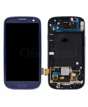 LCD Screen and Digitizer Assembly Replacement for Samsung Galaxy S3 III I535/R570 - Blue