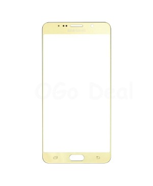 Front Glass Lens Replacement for Samsung Galaxy Note 5 Gold