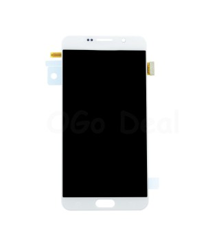 LCD Screen and Digitizer Assembly Replacement for Samsung Galaxy Note 5 - White