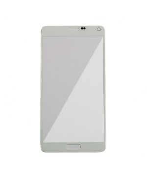 Front Glass Lens Replacement for Samsung Galaxy Note 4 White