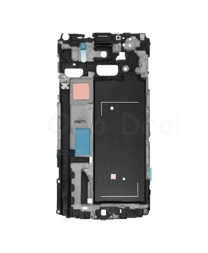 LCD front Support Frame Bezel /Middle Plate Replacement for Samsung Galaxy Note 4 N910V
