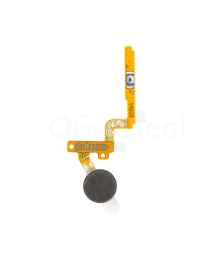 Power Button Flex Cable and Vibrator motor Replacement for Samsung Galaxy Note 4