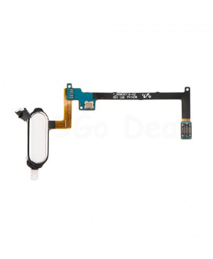 Home Button Keypad Flex Cable Replacement for Samsung Galaxy Note 4 - White