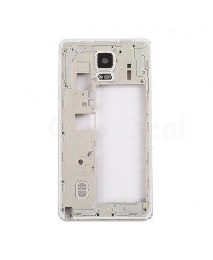 Middle Plate Frame Assembly for Samsung Galaxy Note 4 - White