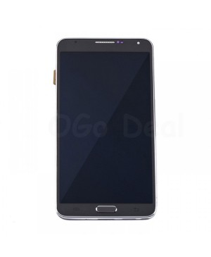 LCD Screen and Digitizer Assembly Replacement With Frame for Samsung Galaxy Note 3 N900P/N900V - Gray