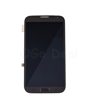LCD Screen and Digitizer Assembly Replacement With Frame for Samsung Galaxy Note 2 I605 / L900 / R950 - Gray