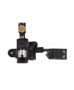 Earpiece Speaker & Headphone Jack Flex Cable Replacement for Samsung Galaxy Note 2