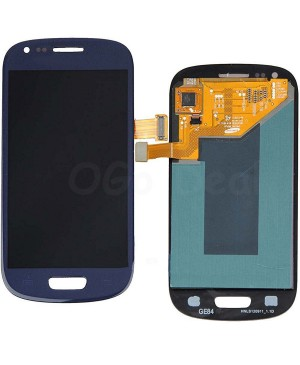 For Samsung Galaxy S3 Mini LCD & Touch Screen Assembly Replacement - Blue