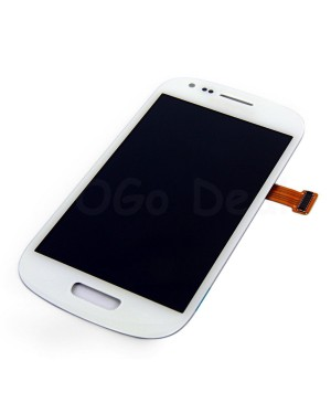 For Samsung Galaxy S3 Mini LCD & Touch Screen Assembly Replacement - White