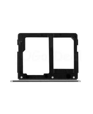 SIM Card Tray and Micro SD Card Tray Replacement for Samsung Galaxy A9 (2016) A9000 - Black