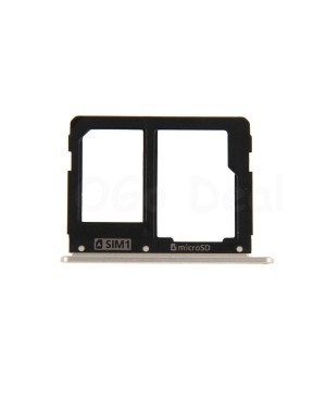 SIM Card Tray and Micro SD Card Tray Replacement for Samsung Galaxy A9 (2016) A9000 - Gold