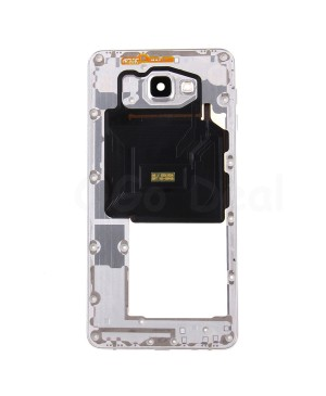Middle Frame Bezel Assembly - White for Samsung Galaxy A9 (2016) A9000