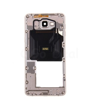 Middle Frame Bezel Assembly - Gold for Samsung Galaxy A9 (2016) A9000